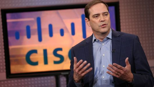 Chuck Robbins, CEO of Cisco